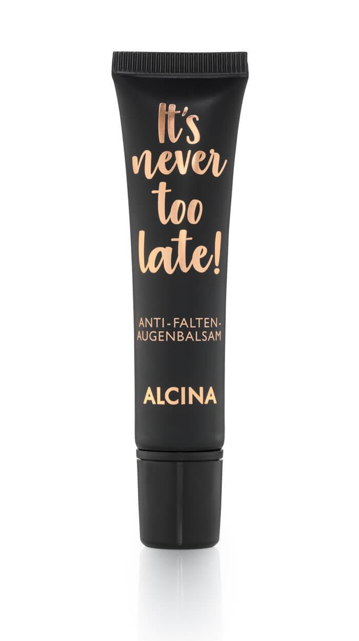 Alcina it's never too late Anti-Falten-Augenbalsam
