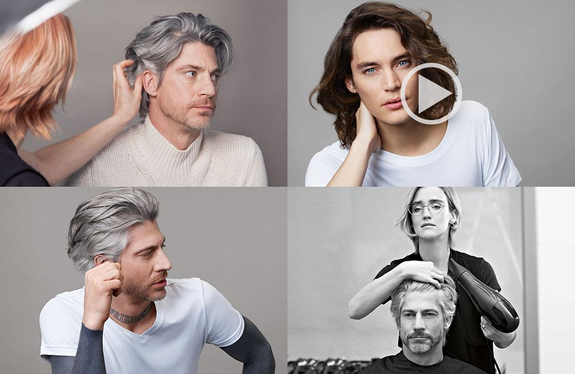 goldwell men collage
